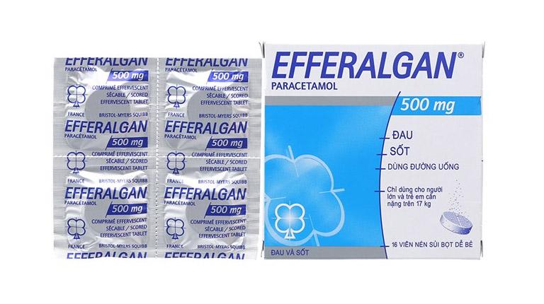 Thành phần và công dụng của thuốc hạ sốt efferalgan 500mg