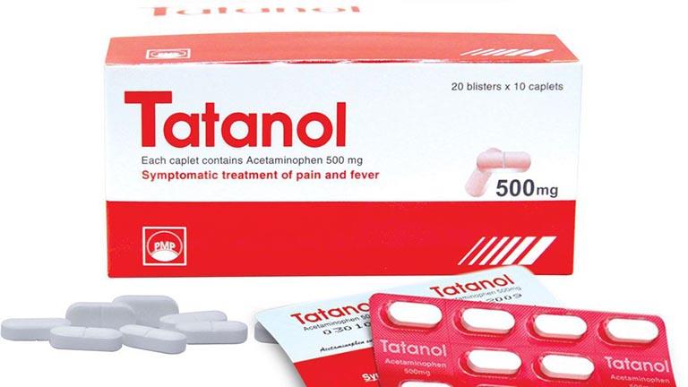 Thuốc hạ sốt tatanol 500mg là thuốc gì?
